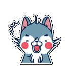 狼ちゃんと一緒(個別スタンプ:15)