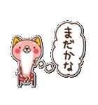 狼ちゃんと一緒(個別スタンプ:27)