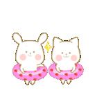 いちごとオレンジ♡うさぎとネコ ver.2(個別スタンプ:23)