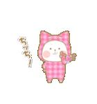 いちごとオレンジ♡うさぎとネコ ver.2(個別スタンプ:25)