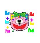 Rienbow★動く!!カラフルスタンプ(個別スタンプ:18)