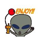 火星人とグレイ(個別スタンプ:7)