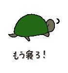 またまた亀君(個別スタンプ:05)
