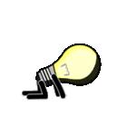 電球のヒカル君(個別スタンプ:37)