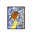 Stained Glass Girls(個別スタンプ:35)