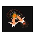 リアル金魚【京都弁】(個別スタンプ:5)