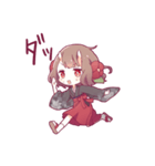 小鬼の少女スタンプ(個別スタンプ:14)