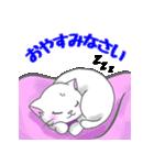 ぷにぷににゃんこ【敬語あいさつ編】(個別スタンプ:40)