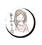 マユミさん*(個別スタンプ:02)