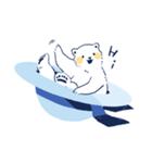 南北極地動物園~夏の装い~(個別スタンプ:01)