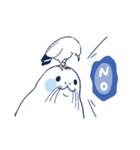 南北極地動物園~夏の装い~(個別スタンプ:06)