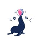 南北極地動物園~夏の装い~(個別スタンプ:09)