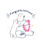 南北極地動物園~夏の装い~(個別スタンプ:21)