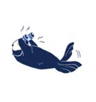 南北極地動物園~夏の装い~(個別スタンプ:32)