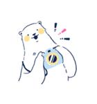 南北極地動物園~夏の装い~(個別スタンプ:35)