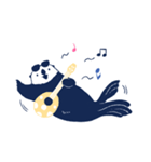 南北極地動物園~夏の装い~(個別スタンプ:39)
