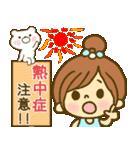 お絵かきガールズスタンプ6~夏ver.~(個別スタンプ:01)