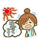 お絵かきガールズスタンプ6~夏ver.~(個別スタンプ:03)
