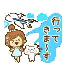 お絵かきガールズスタンプ6~夏ver.~(個別スタンプ:15)