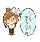 お絵かきガールズスタンプ6~夏ver.~(個別スタンプ:16)