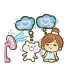 お絵かきガールズスタンプ6~夏ver.~(個別スタンプ:17)