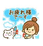 お絵かきガールズスタンプ6~夏ver.~(個別スタンプ:22)