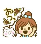 お絵かきガールズスタンプ6~夏ver.~(個別スタンプ:23)