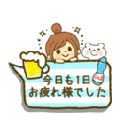 お絵かきガールズスタンプ6~夏ver.~(個別スタンプ:24)