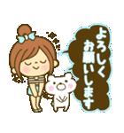 お絵かきガールズスタンプ6~夏ver.~(個別スタンプ:33)