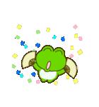 動く!毎日使えるカエル(蛙)のスタンプ(個別スタンプ:13)