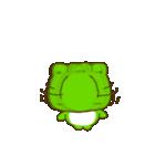 動く!毎日使えるカエル(蛙)のスタンプ(個別スタンプ:19)