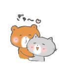 ポムくんとミィルちゃん(個別スタンプ:09)