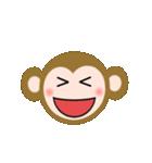動く!絵文字のおさるちゃん(個別スタンプ:03)