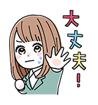 orange ゆるかわスタンプ♪(個別スタンプ:05)