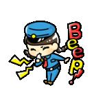 警備員のトモミちゃん(個別スタンプ:02)
