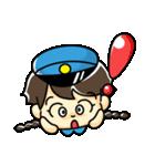 警備員のトモミちゃん(個別スタンプ:11)