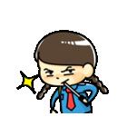 警備員のトモミちゃん(個別スタンプ:21)