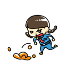 警備員のトモミちゃん(個別スタンプ:33)