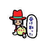 Red-hat4(個別スタンプ:03)