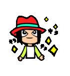 Red-hat4(個別スタンプ:05)
