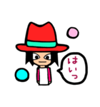 Red-hat4(個別スタンプ:08)