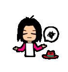 Red-hat4(個別スタンプ:09)