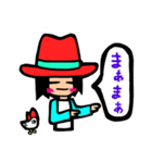 Red-hat4(個別スタンプ:16)
