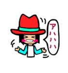 Red-hat4(個別スタンプ:28)