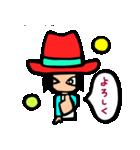 Red-hat4(個別スタンプ:32)