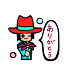 Red-hat4(個別スタンプ:38)