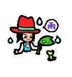 Red-hat4(個別スタンプ:39)
