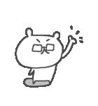 メガネくまさん Cute glasses bear(個別スタンプ:05)