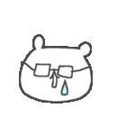 メガネくまさん Cute glasses bear(個別スタンプ:18)