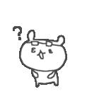 メガネくまさん Cute glasses bear(個別スタンプ:25)